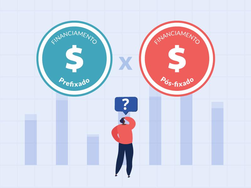 taxa de juro prefixada ou pós-fixada