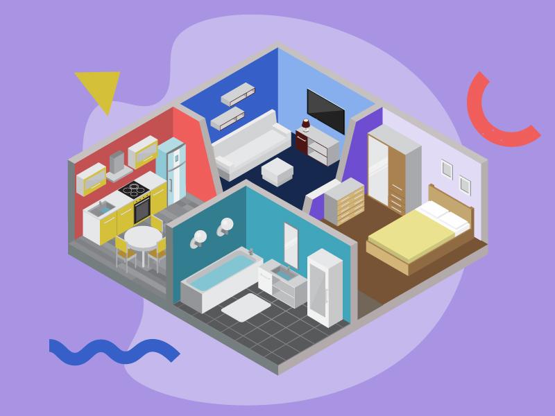preço de um apartamento pequeno